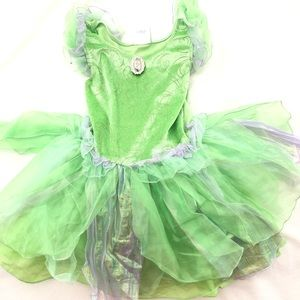 Tinkerbell Disney store exclusive dress up costume